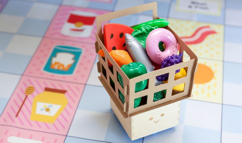 Tesco Cubetto coding for kids shopping basket