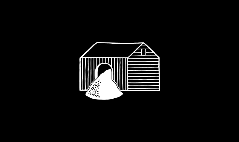 Flour House brand illustration