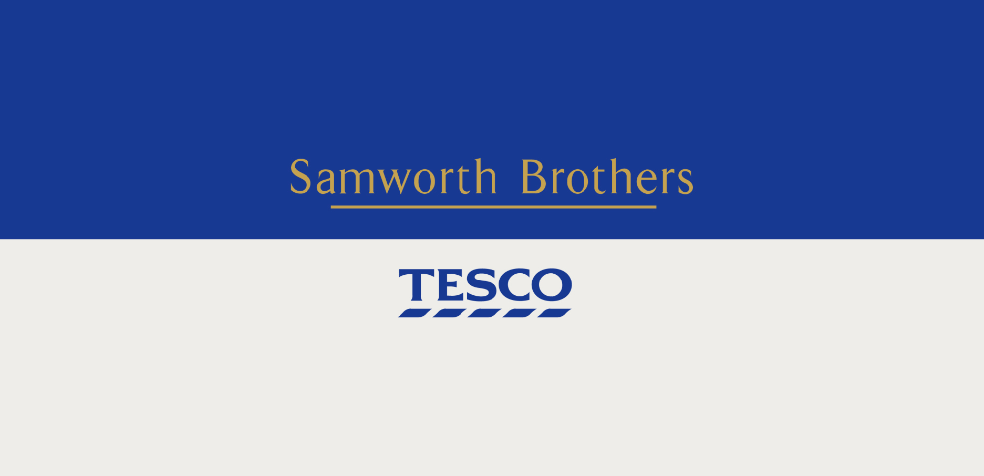 Samworth Brothers_Tesco identity