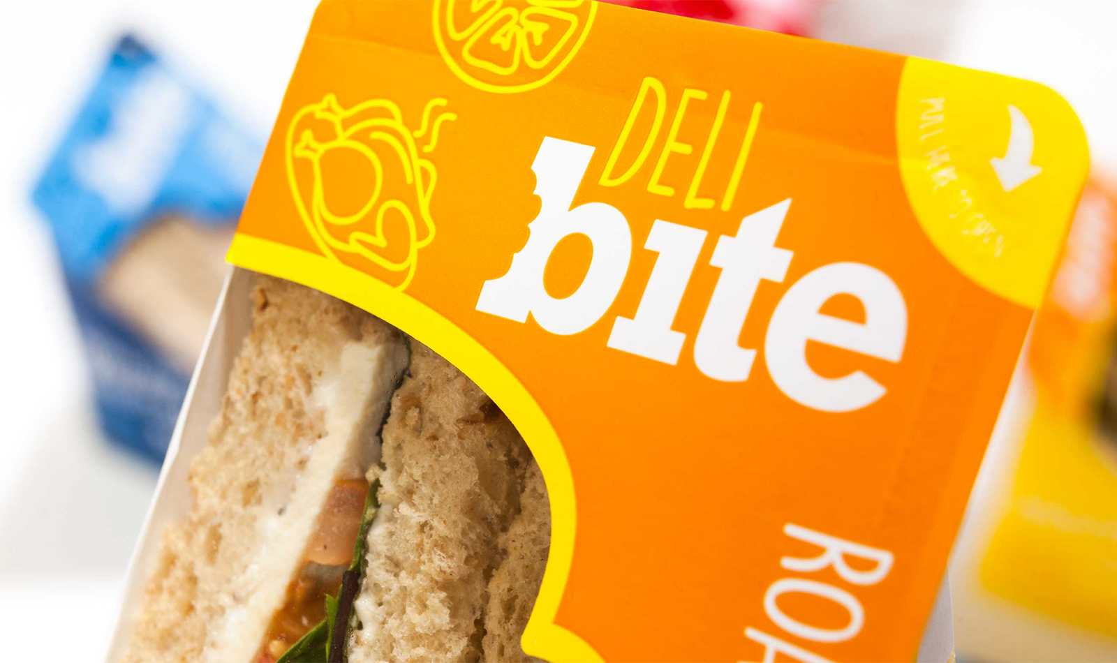 Deli Bite Sandwich Branding and design