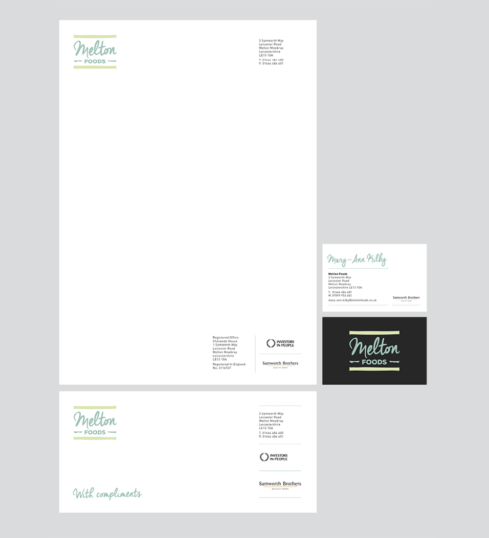 Melton branding