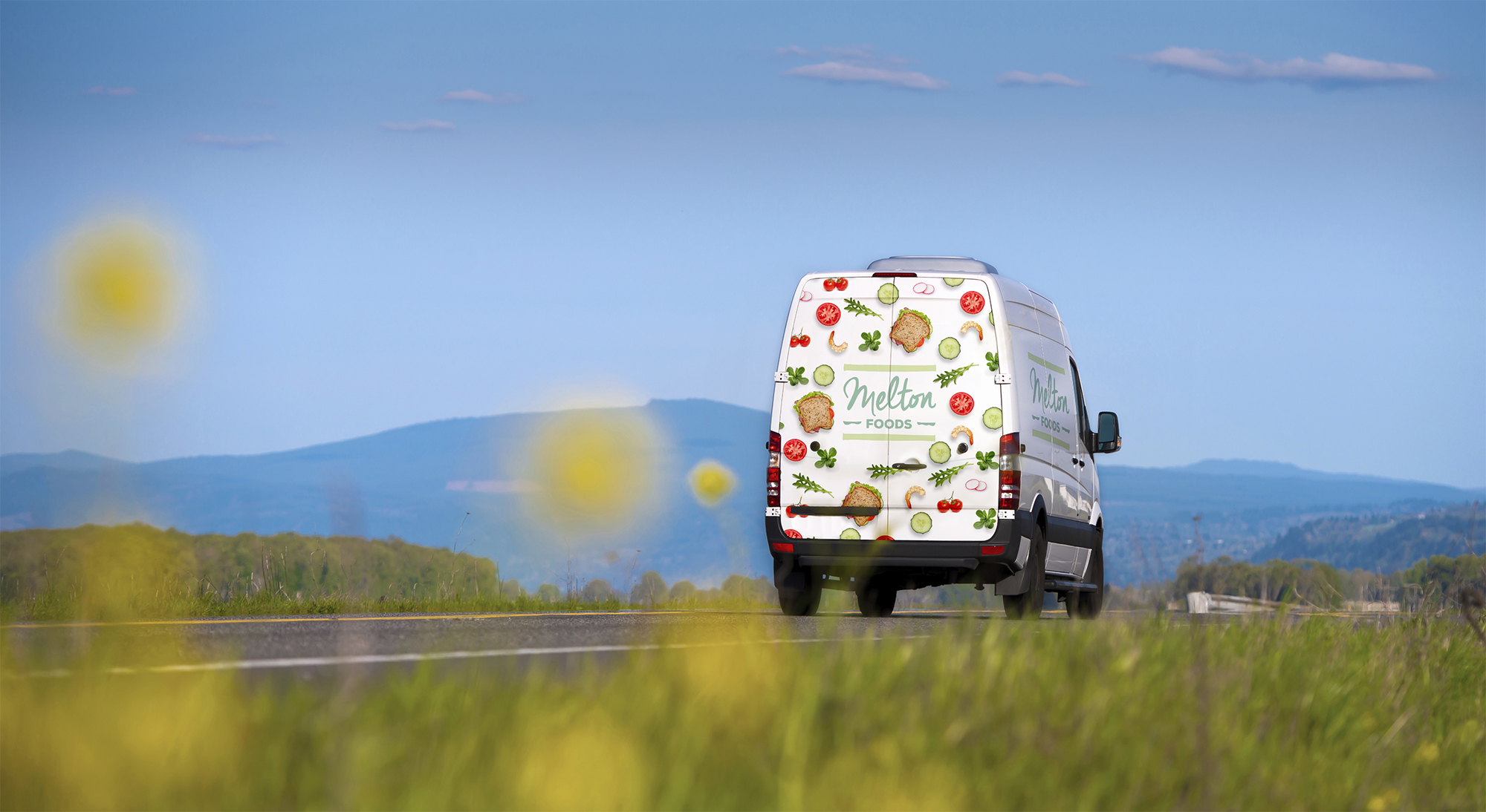 Melton Foods brand identity